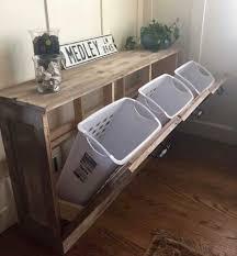 Laundry Room Basket Storage by Hidden Laundry Basket Storage Unit Home Improvement Pinterest