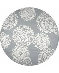 Rizzy Home Rugs Huge Deal On Rizzy Home Azzura Hill Gray Polypropylene Medallion