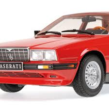 maserati biturbo sedan dtw corporation rakuten global market minichamps 1 18 1982