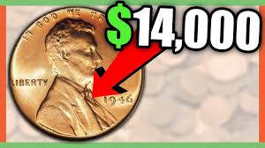 how much is a 1946 penny worth rare pennies worth money youtube