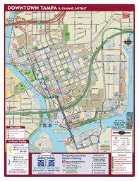 Map Of Tampa Bay Downtown Tampa And Channel District Maplets
