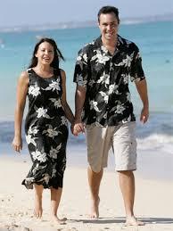 hawaiian wedding dress and shirt about wedding blog