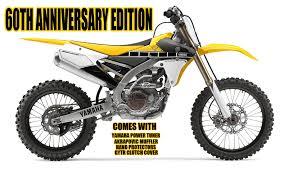 2016 yamaha yz450f u0026 yz250f 60th anniversary edition gh motorcycles