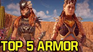 Clothing Advice Perfect Gear For by Horizon Zero Dawn Best Armor Top 5 Gear Horizon Zero Dawn Armor