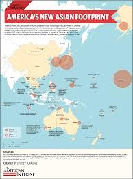 East China Sea Map by Usa Pivot To Asia Map A Study Blog
