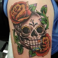 72 beautiful sugar skull tattoos with images skull tattoos