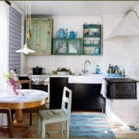 Shabby Chic Kitchen Lighting by Kitchen Decorating Design Ideas Using Light Blue Wood Shabby Chic