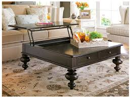 paula deen home tobacco 44 u0027 u0027 square put your feet up coffee table