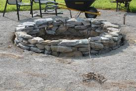Rocks For Firepit The Completed Pit Project How We Built It For 117