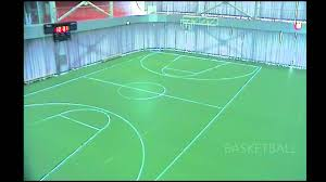 Basketball Courts With Lights Ledssport Showing The Interactive Led Court Youtube