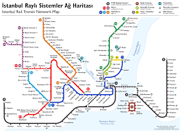 Dubai Metro Map by Istanbul Rapid Transit Map Schematic File