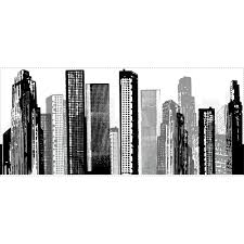 room mates cityscape giant wall mural reviews wayfair cityscape giant wall mural