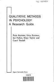 qualitative methods in psychology a research guide pdf download