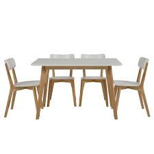 Esszimmertisch Lampen Esstisch Küchentisch Tavola Massivholz Birke Tischplatte Weiß