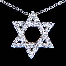 star necklace with diamonds images 14k white gold star of david diamond pendant nirvana pendants jpg