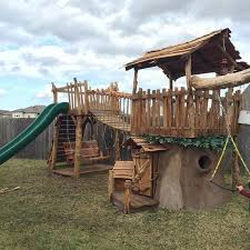 Pirate Ship Backyard Playset by A Wooden Pirate Ship Tree House Imagiplay Treehouse A High