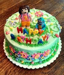 dora the explorer birthday cake cakecentral com