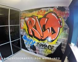 Best Kingsyze Graffiti Images On Pinterest Graffiti Murals - Graffiti bedroom