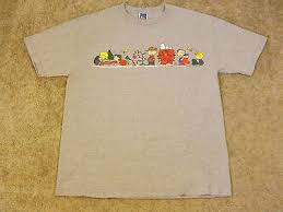 snoopy christmas t shirts peanuts christmas t shirt brown snoopy large gray
