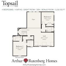 Arthur Rutenberg Homes Floor Plans Topsail 1322 Manor Lot Plan