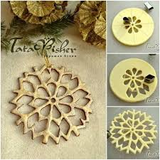 diy salt dough snowflake ornaments tutorial