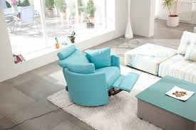 Modern Recliner Chair Bright Rocker Glider In Family Room Modern With Fama Sofas Next To