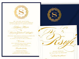 Gold Invitation Card Wedding Invitations
