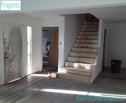 First Home Renovation Floating Staircase by Renovation Rehab Replacing The Staircase From
