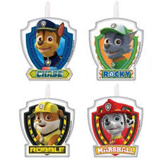 buy paw patrol cake candles party decorations range