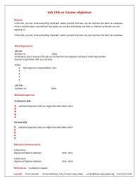 Blank Resume Template Pdf Blank Resume Template Pdf Enwurf Csat Co