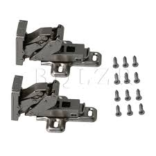 kitchen cupboard door hinge repair kit b q tools home improvement hinges 2pcs nickel plated iron