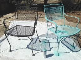 refinishing metal patio furniture home design inspiration