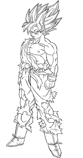 dbz coloring page free download