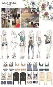samantha dover artsthread profile fashion sketchbook gilly