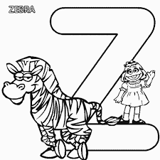 sesame street free alphabet coloring pages alphabet coloring