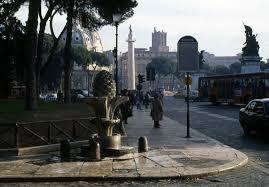 general topography and setting trajan u0027s column in rome