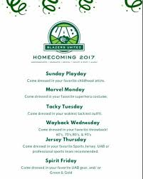 uab homecoming home facebook