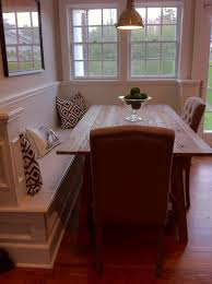 Kitchen Table Idea Corner Bench With Dining Table This Could Be As A Half