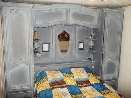 chambre pont chambre lit pont et armoire murale