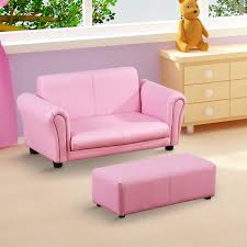 canap pour enfants homcom sofa canapé fauteuil pour enfant 3 ans 7 ans 2 places avec