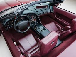 1993 corvette interior 1993 chevrolet corvette c4 convertible pictures information and