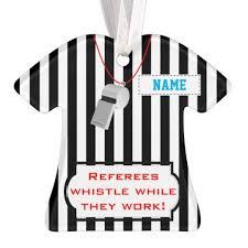 personalized referee ornament zazzle