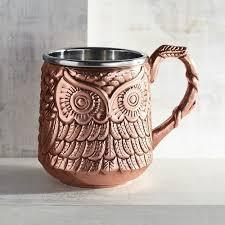 owl mug owl moscow mule mug pier 1 imports