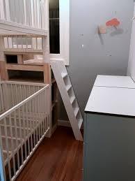 loft bed hacks crib bunk bed ikea hack creative ideas of baby cribs