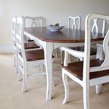 Blue Dining Room Ideas Dining Tables Vintage Style Dining Chairs Distressed Blue Dining