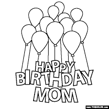 trend happy birthday mom coloring pages 51 additional free