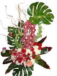 hawaiian treasure thank you flower arrangement event flowers ny