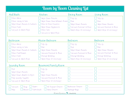 clean bedroom checklist day 18 room by room cleaning checklists scattered squirrel