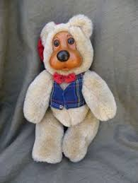 wooden faced teddy bears robert raikes 16 plush wooden limited edition