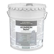 Exterior Paint And Primer - shop valspar heavy duty aluminum satin oil based exterior paint